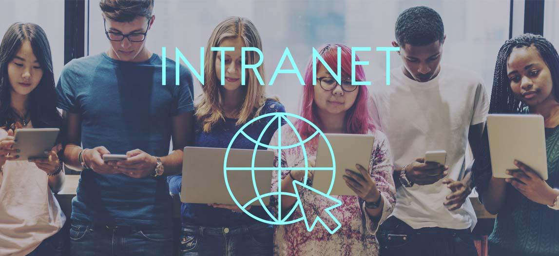 comunicação interna intranet